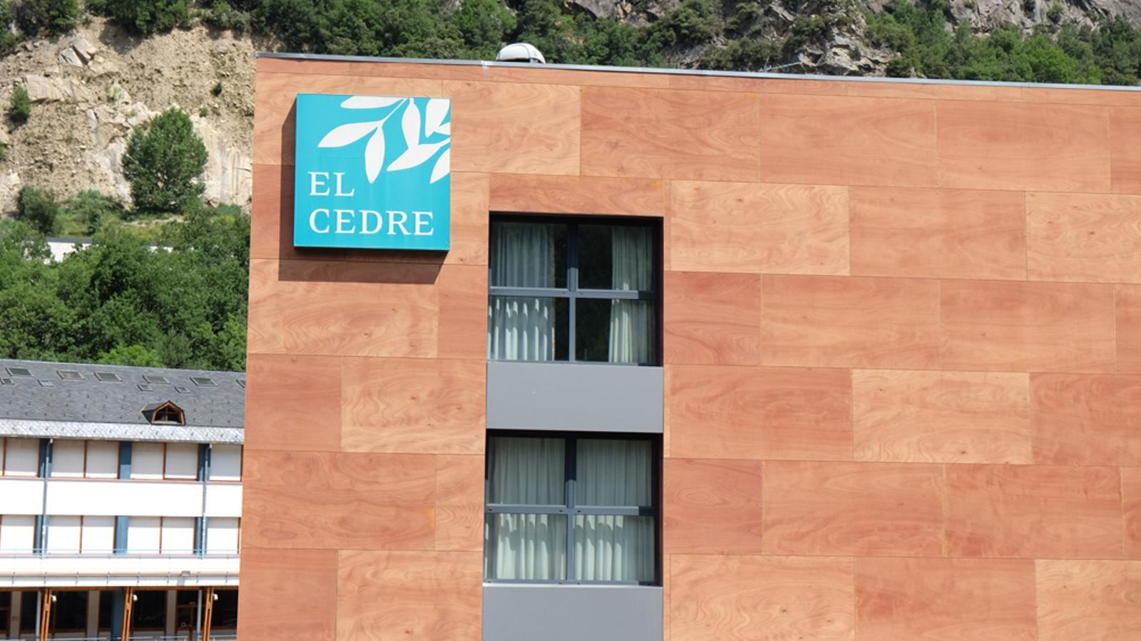 La façana del centre. / ARXIU