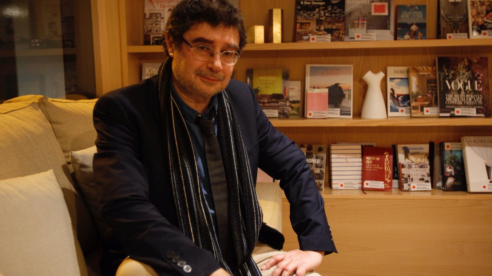 L'escriptor i professor Alfred Sala aquest dijous a Palma.