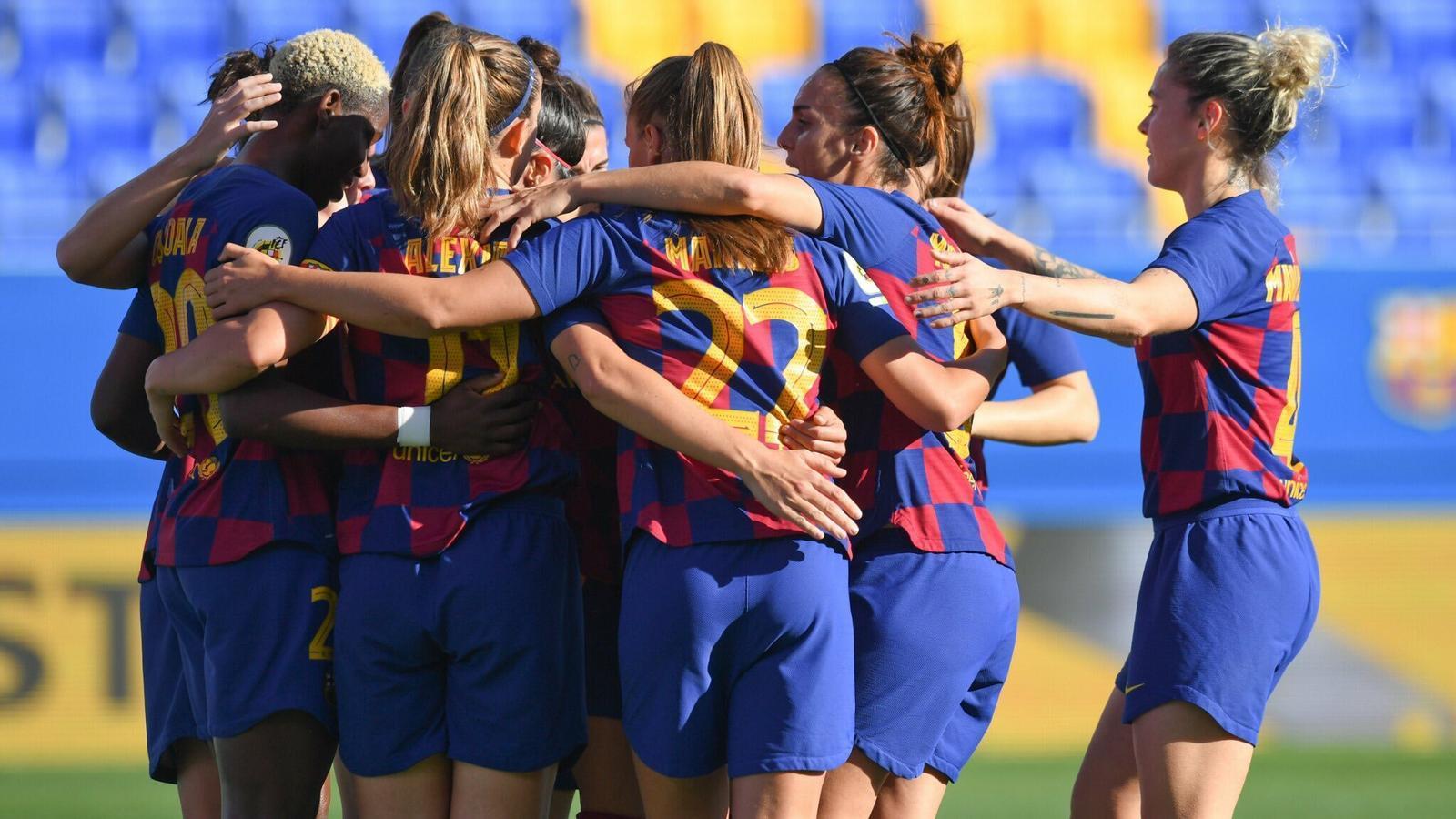 El Barça femení tanca l'any fent de l'estadi Johan Cruyff un fortí (3-1)