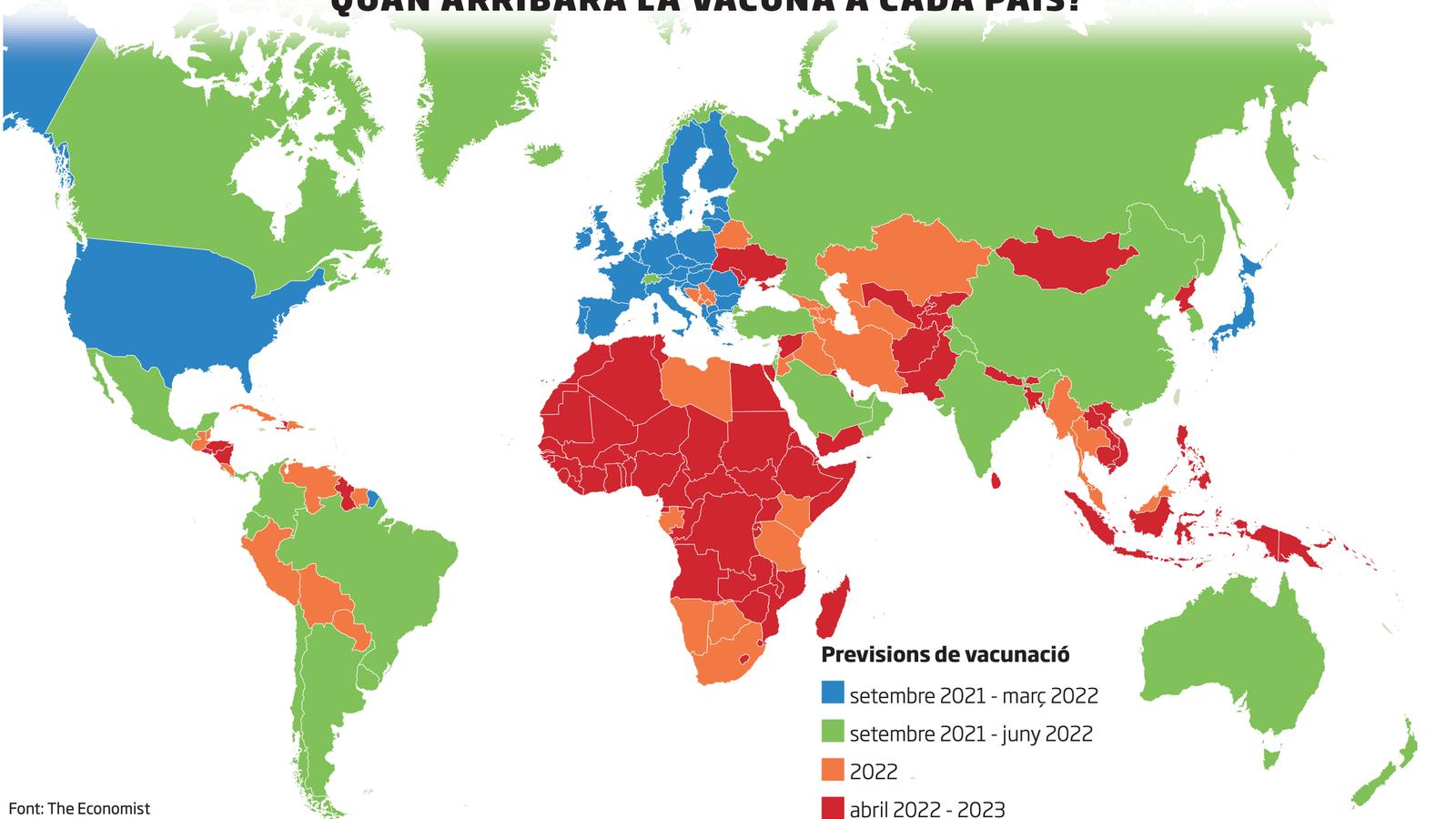 La patent, una barrera per vacunar el món de covid-19