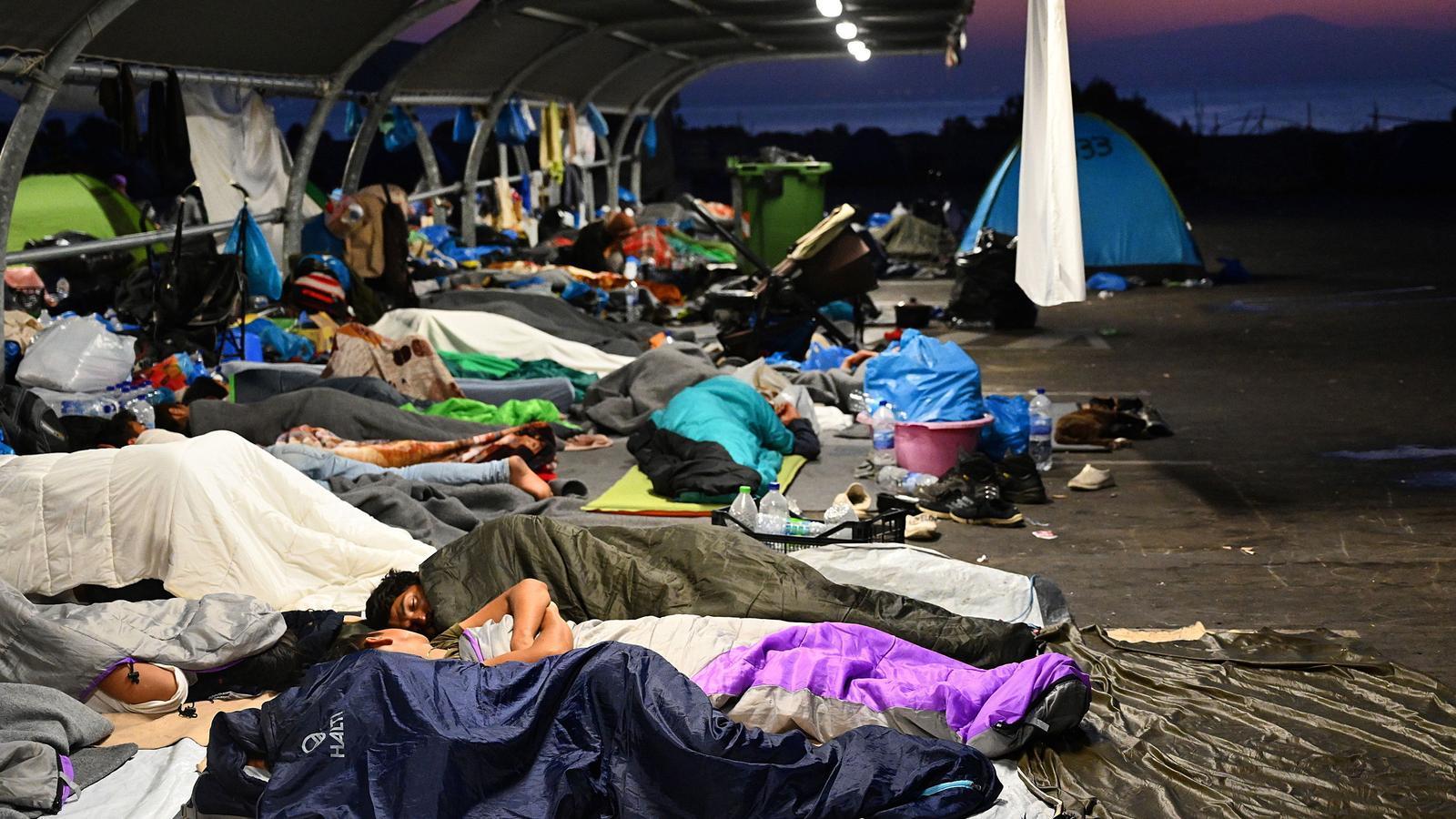 Migrants Lesbos
