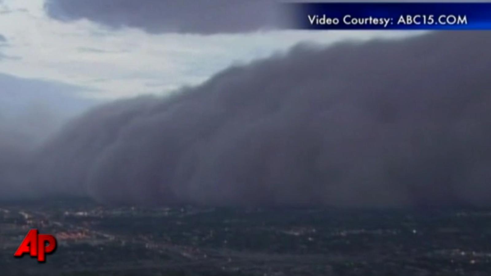 Espectacular tempesta de sorra a Arizona