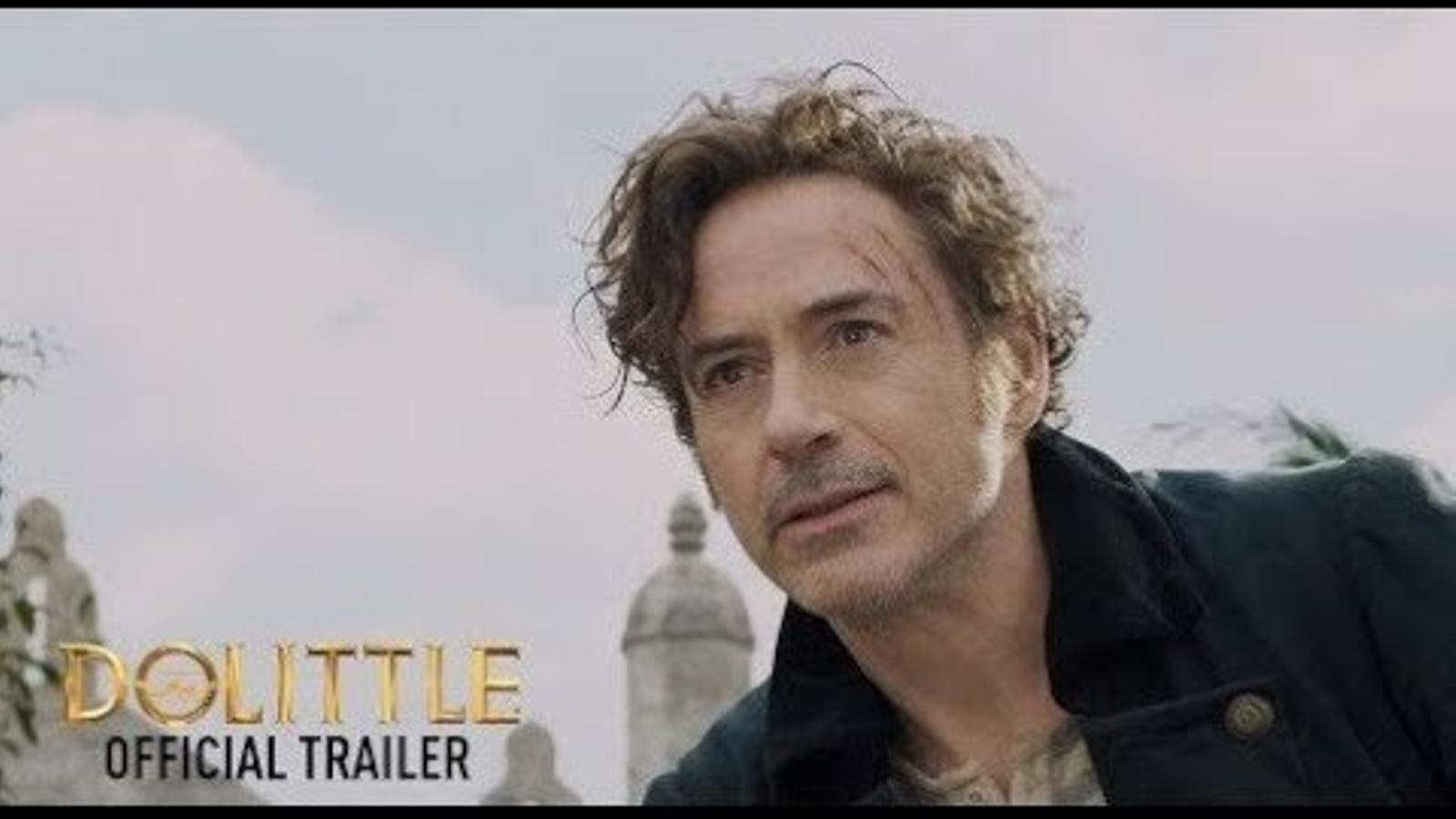 Tràiler de 'Las aventuras del doctor Dolittle'