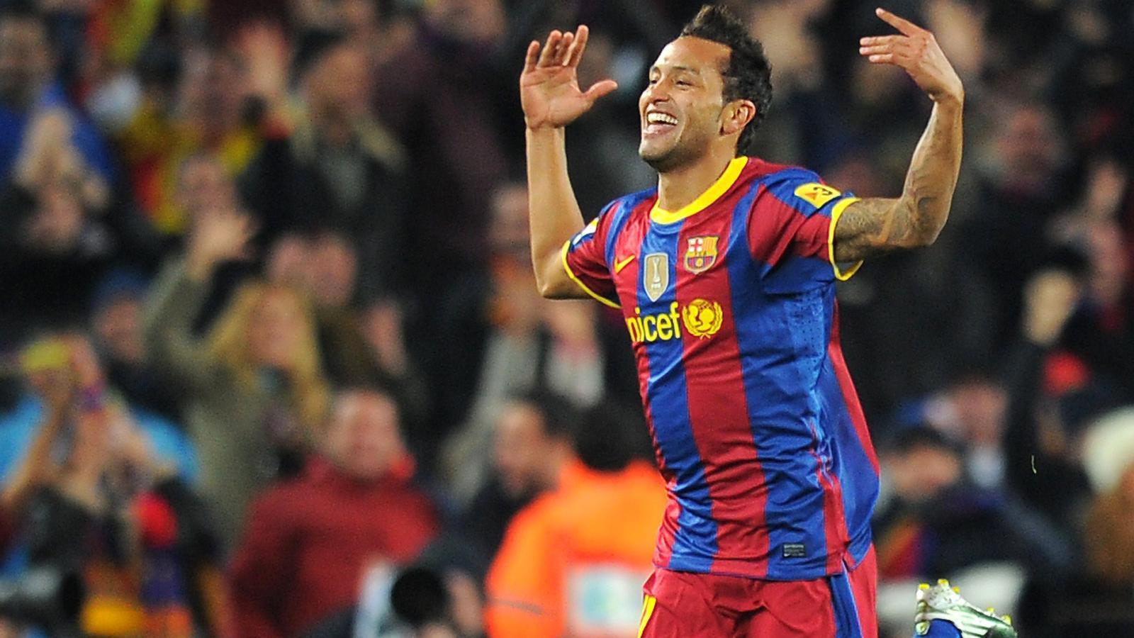 Jeffren, celebrant el gol davant el Madrid.