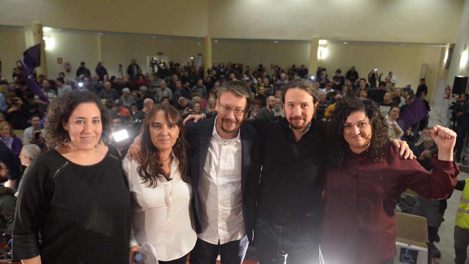 """Iglesias ataca l'independentisme: """"Prometre coses que no es poden complir és estafar els ciutadans"""""""