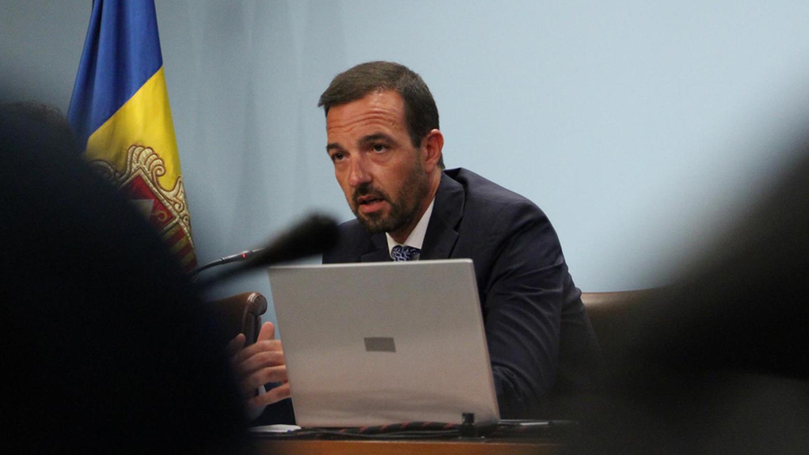 El ministre d'Ordenament Territorial, Jordi Torres. / M. M. (ANA)