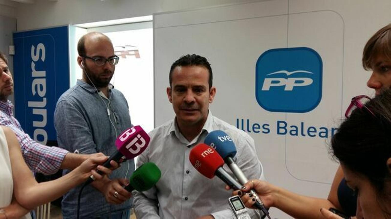 La junta local del PP de Búger presenta en bloc la seva renúncia