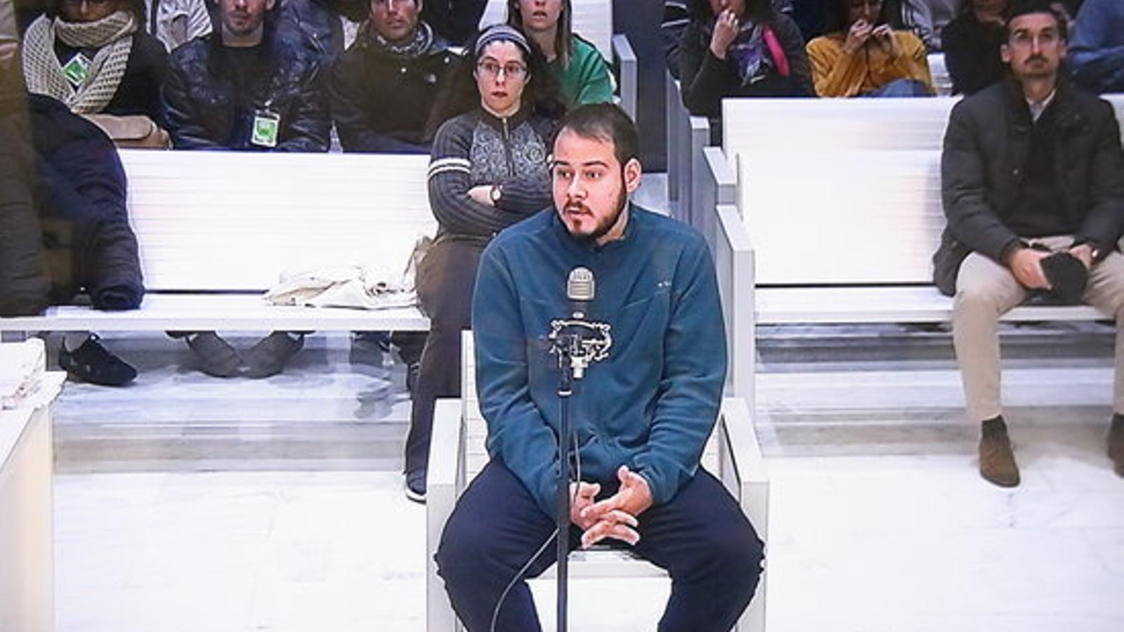 Pablo Hasel, condemnat a dos anys i un dia de presó