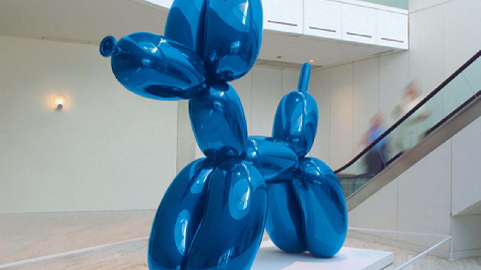 Jeff Koons era fins ara l'artista viu més cotitzat