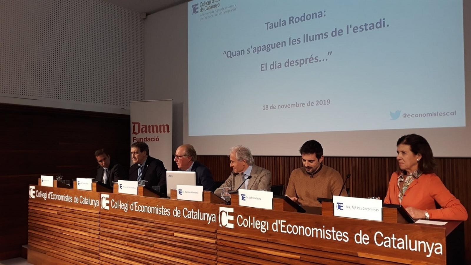 Borja Casado, Rafa Marañón, Josep Maria Gay, Ramon Alfonseda, Jofre Mateu i Mari Paz Corominas, al CEC