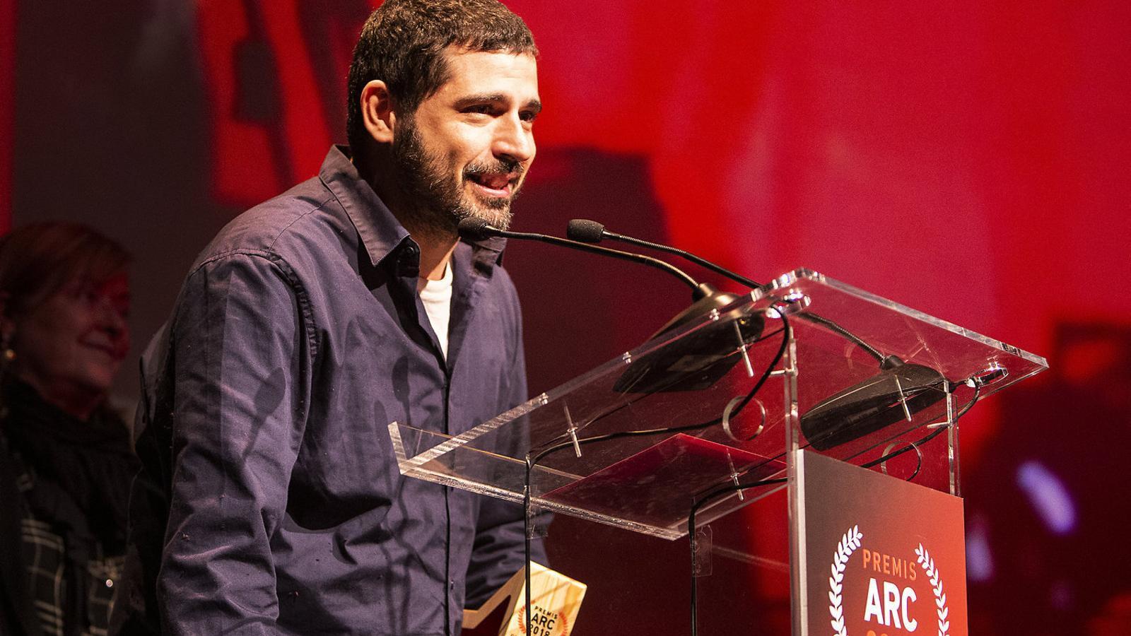 Marcel Bagés va disculpar l'absència de Maria Arnal en el lliurament dels premis ARC.