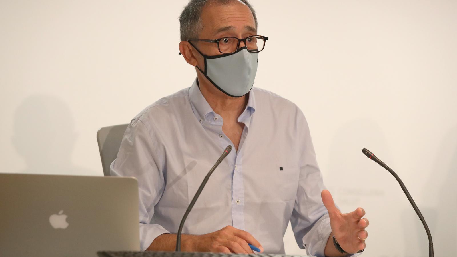 Javier Arranz portaveu de la conselleria de Salut