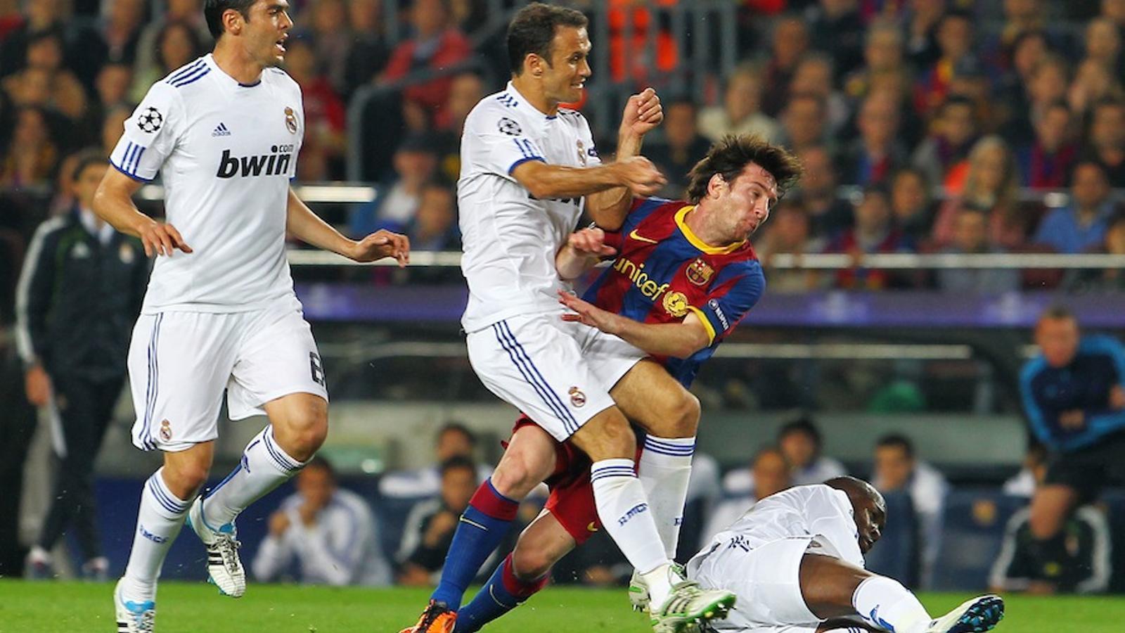 Així van ser les 31 faltes del Reial Madrid al Camp Nou