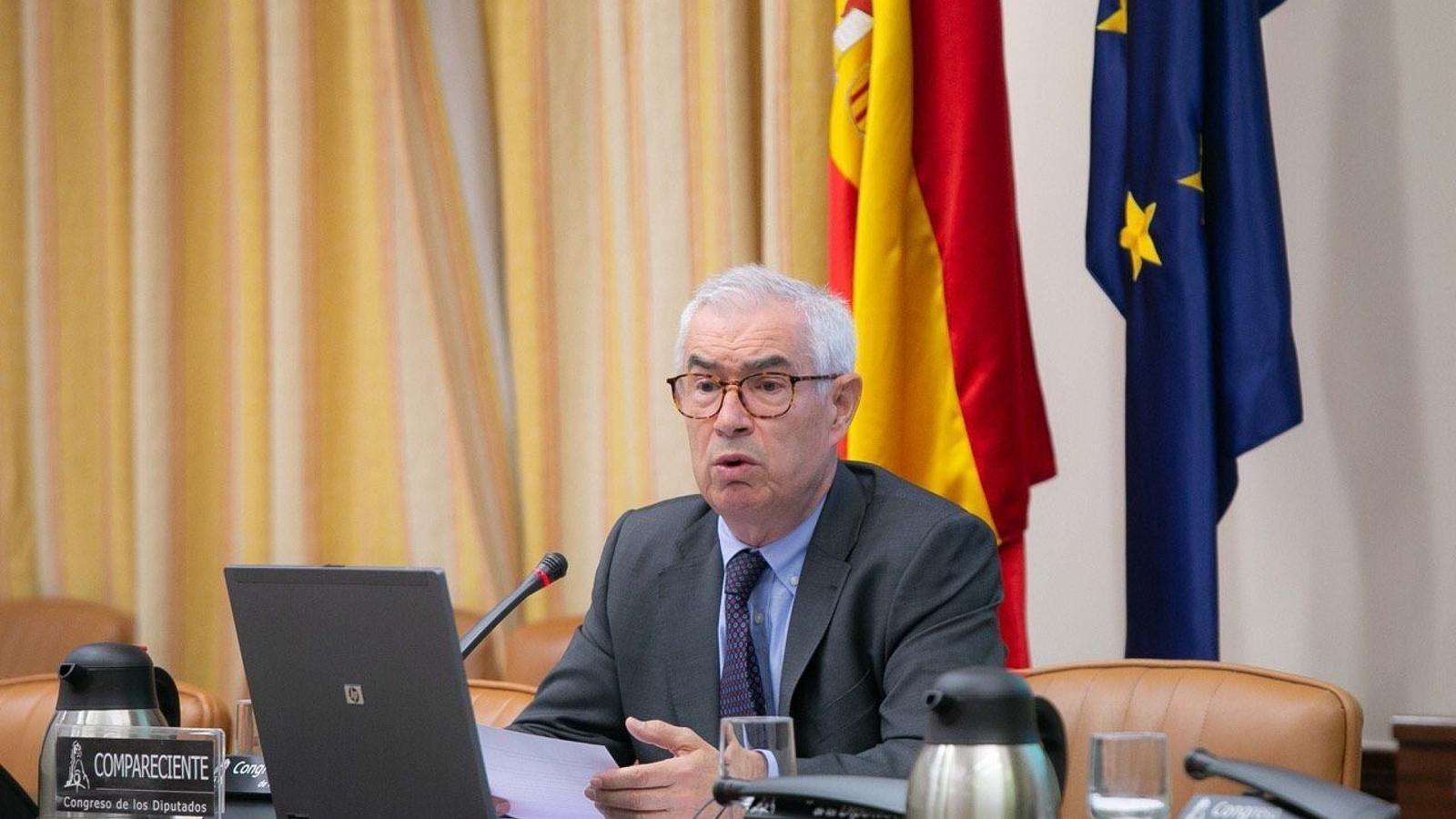 El fundador de la societat espanyola de microbiologia i malalties infeccioses, Emilio Bouza, en una imatge d'arxiu