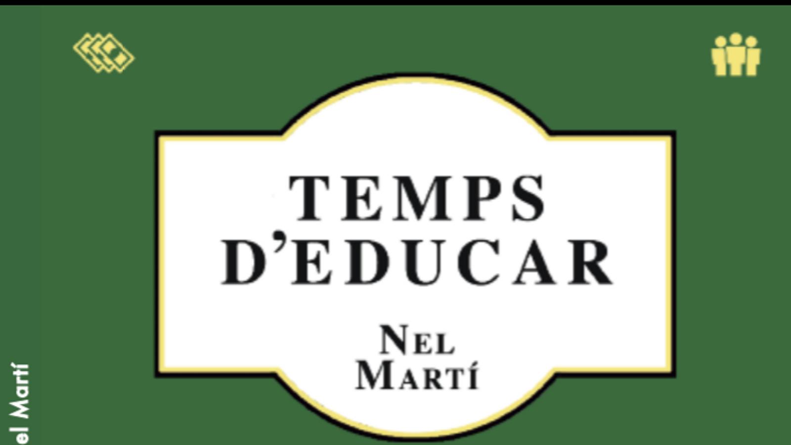 Nel Martí és l'autor d'aquest manual per educar els diferents àmbits de la vida de les persones.