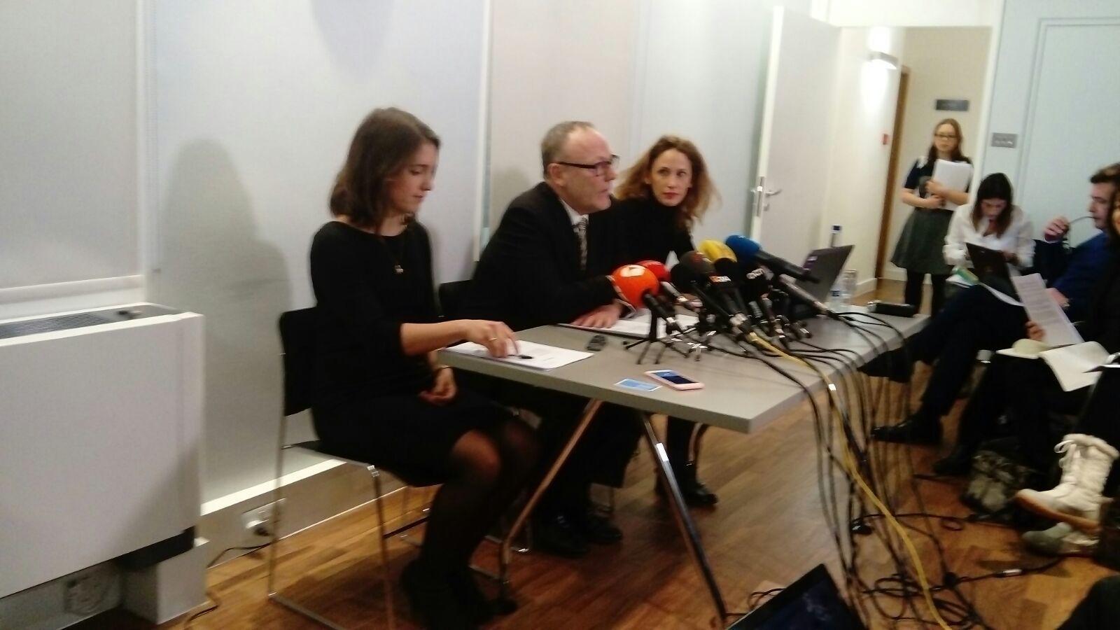 Les defenses de Junqueras, Sànchez i Cuixart porten la detenció dels seus clients a les Nacions Unides
