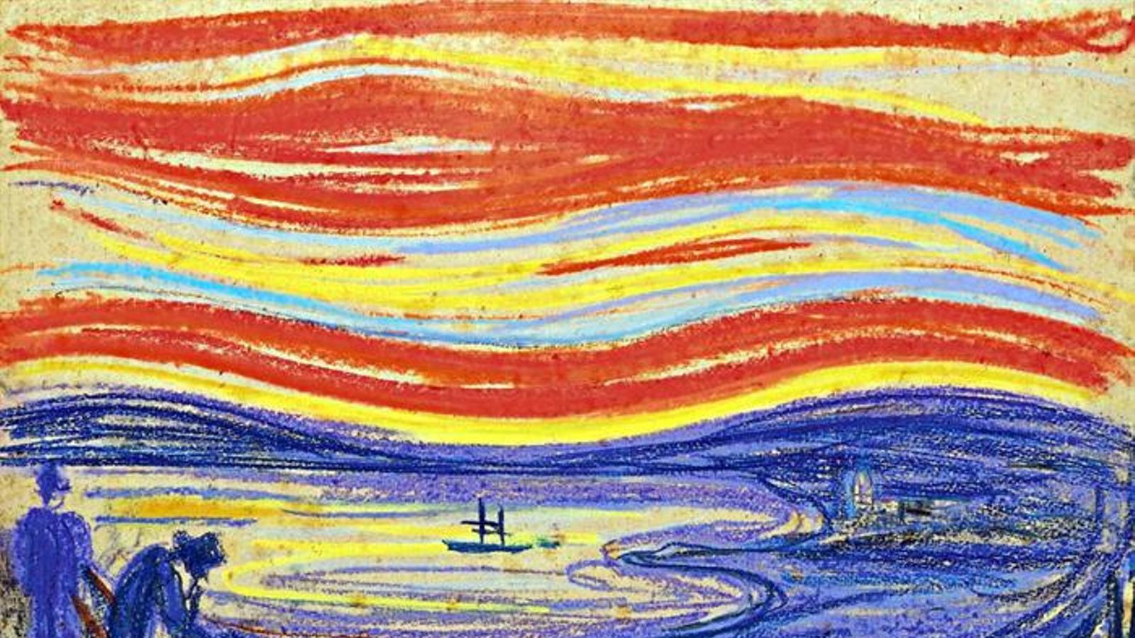 'El crit' de Munch es transforma en el quadre més car del món en una subhasta a Sotheby's de Nova York