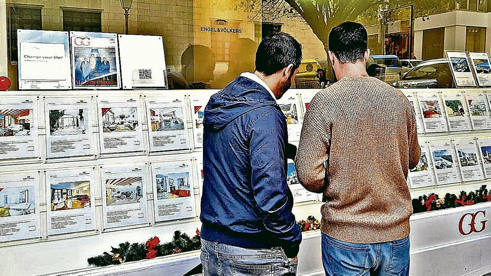 Llogar un pis a Palma és un 31% més car que la mitjana de l'Estat