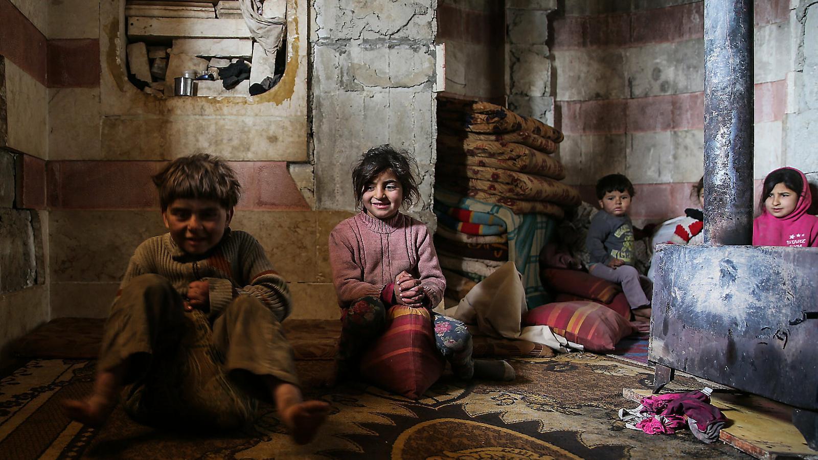 Síria: morir de fred a la guerra sense haver conegut la pau