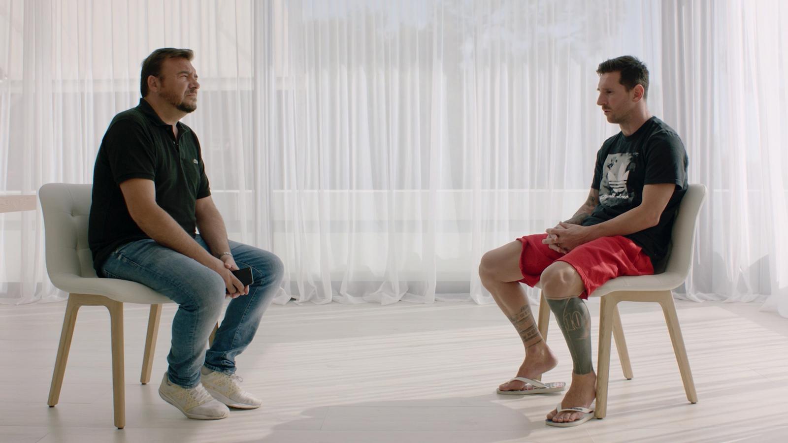 """Messi: """"Mai aniria a un judici contra el club de la meva vida, per aquesta raó no marxo"""""""