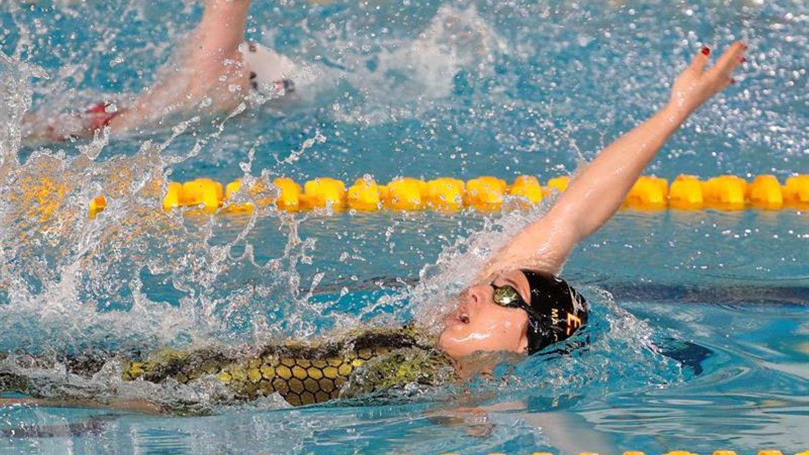 Núria Marquès, als Mundials de natació paralímpica