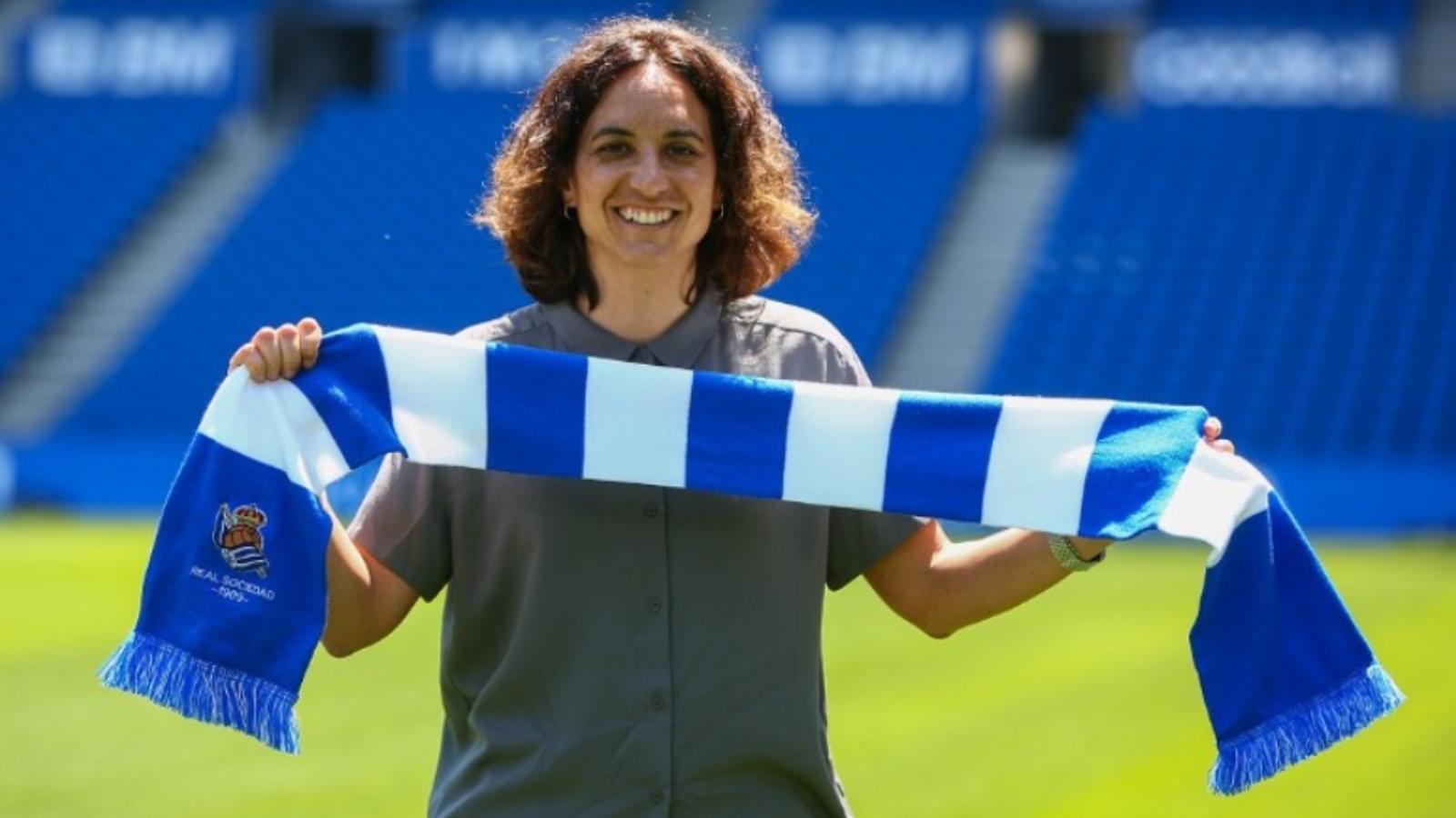 Natalia Arroyo, nova entrenadora de la Reial Societat femenina