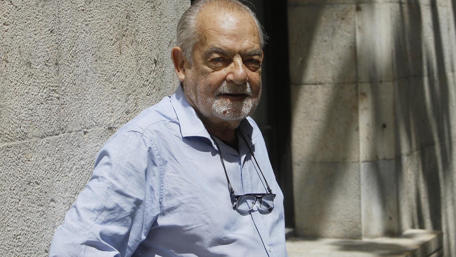 El sociòleg Antoni Tarabini, president de la Fundació Gadeso.