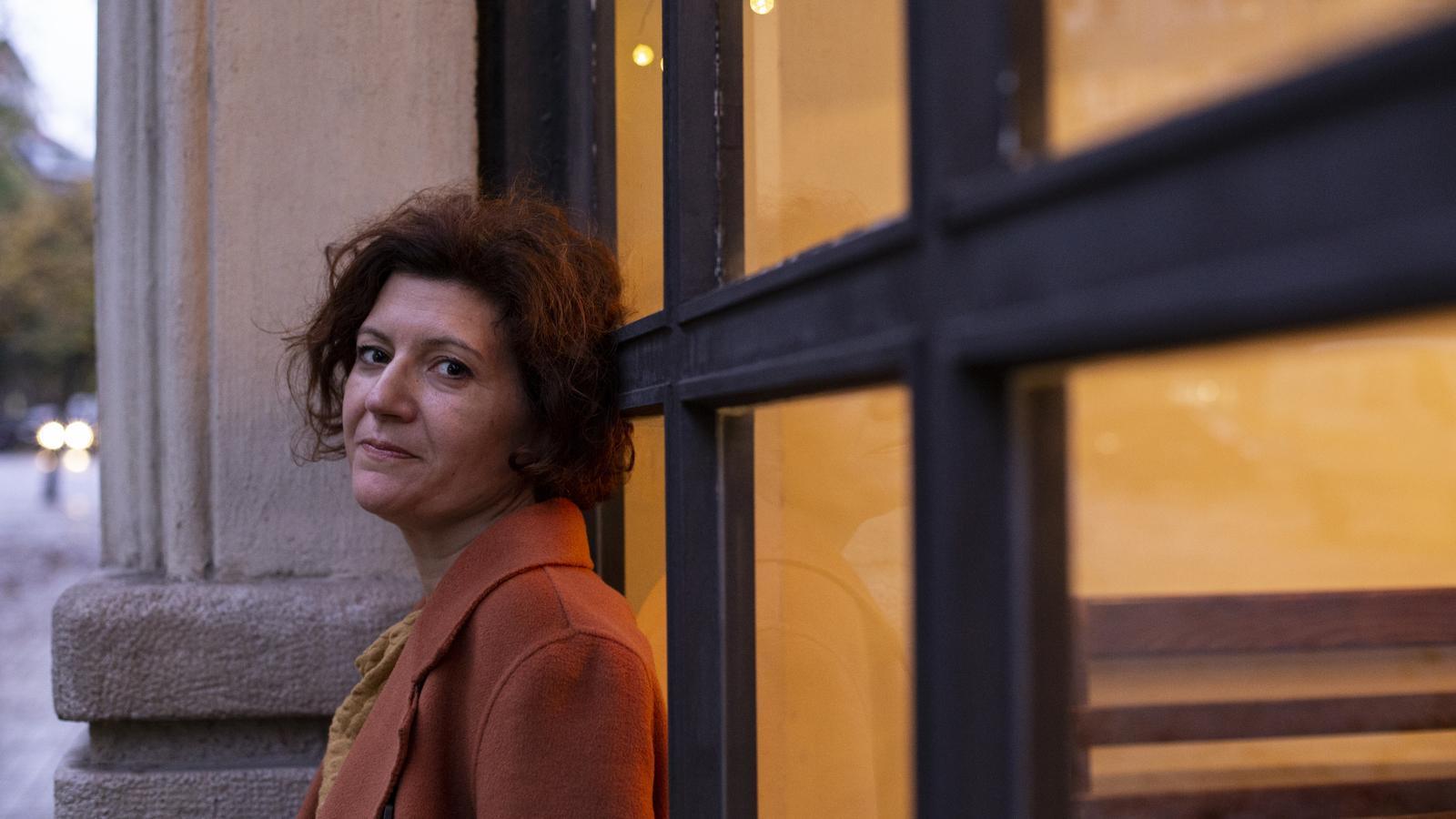 Sílvia Marimon, coautora del llibre 'La dictadura de pedra'