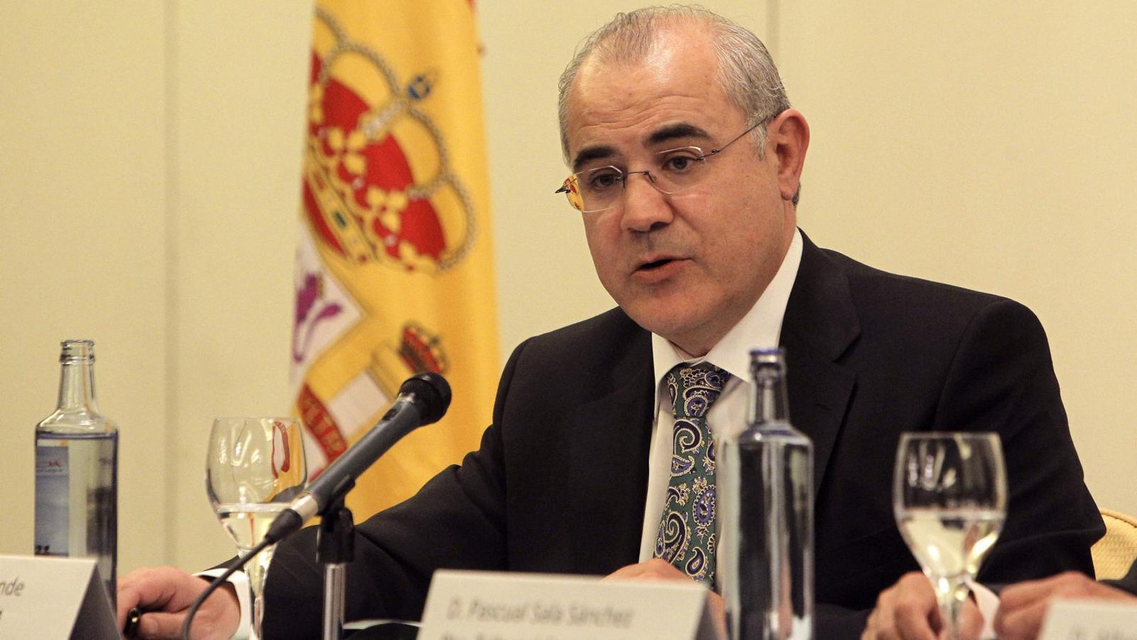 El jutge del Tribunal Suprem que instrueix la causa contra el Procés, Pablo Llarena, en una imatge d'arxiu / KIKO HUESCA / EFE