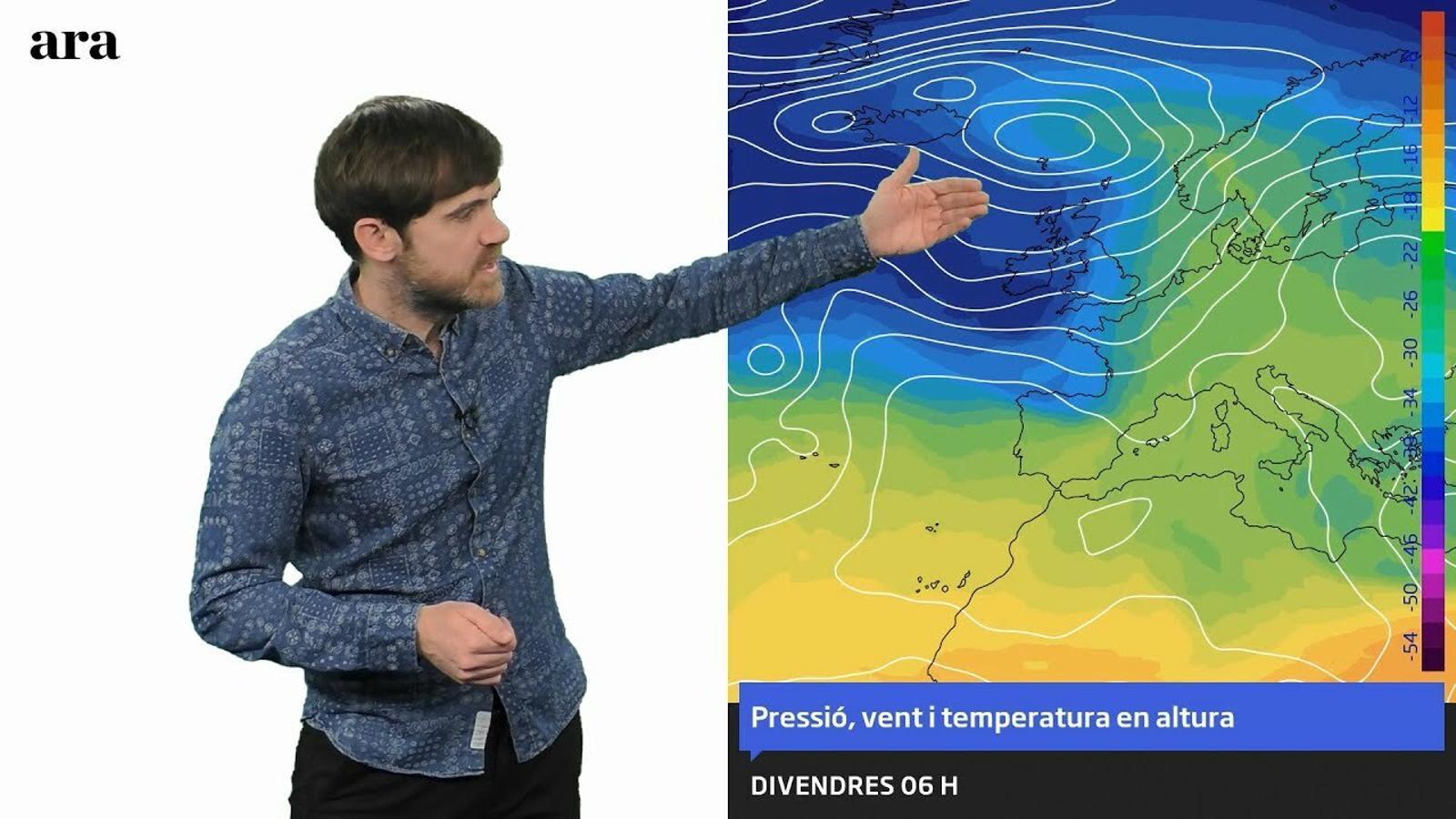 La méteo: nevades divendres i possible temporal a llarg termini
