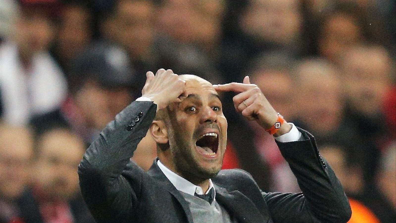 Pep Guardiola, entrenador del Bayern Munic.