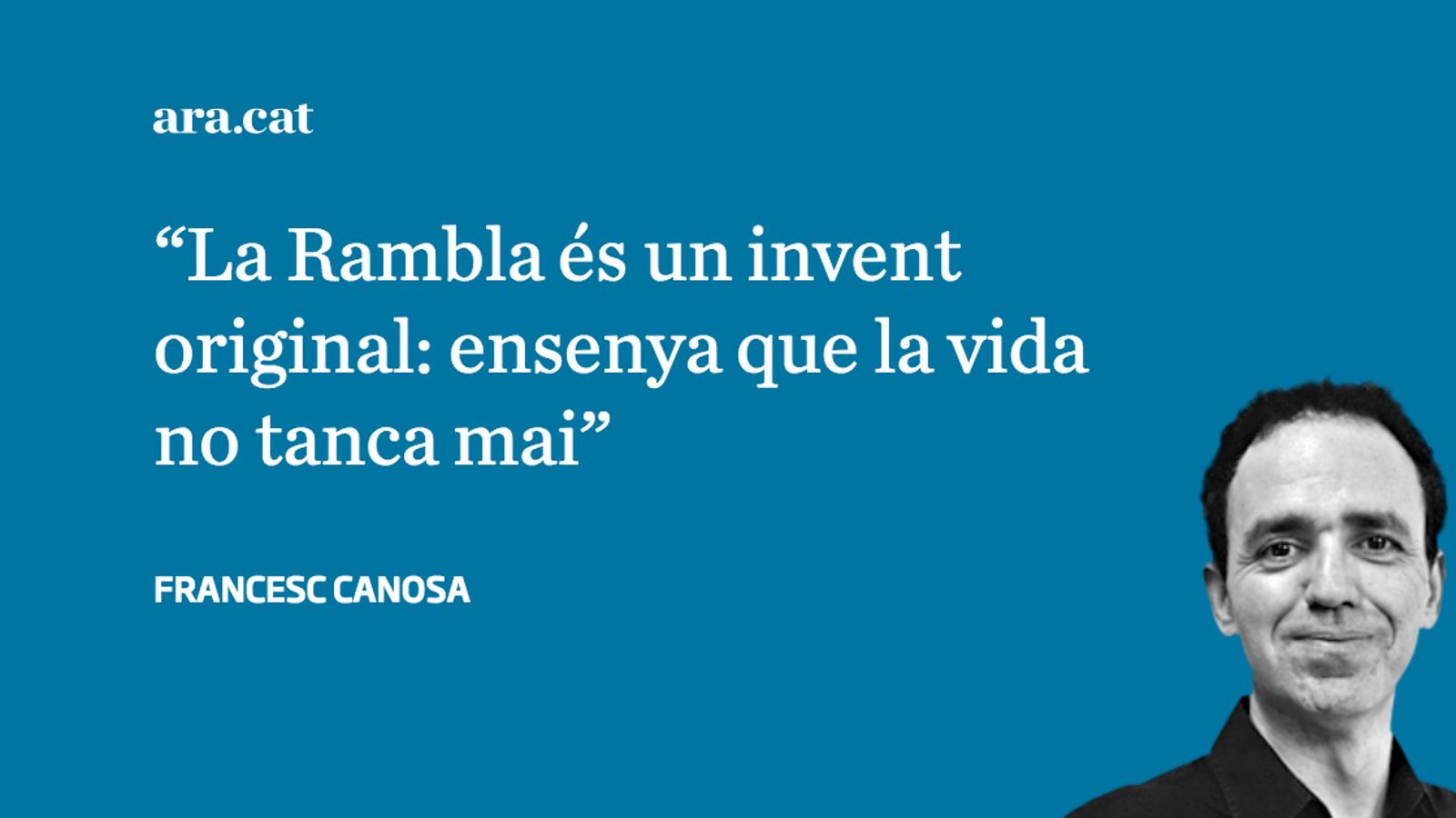El dia que Barcelona inventa la Rambla