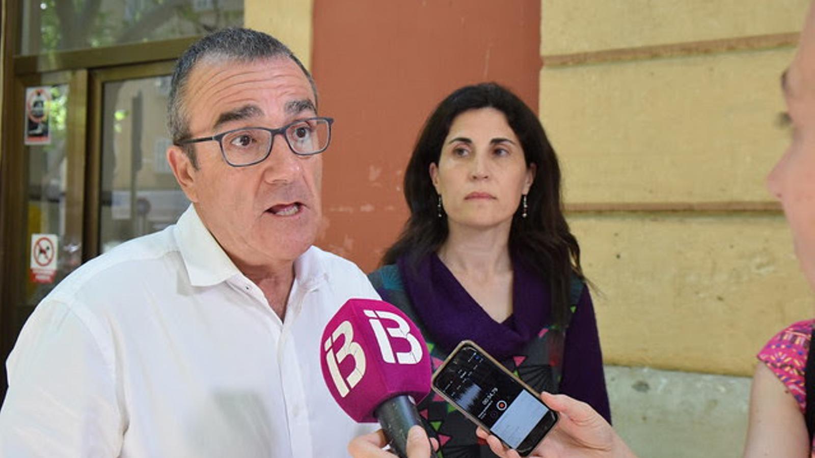 El diputat de Podem, Juan Pedro Yllanes.