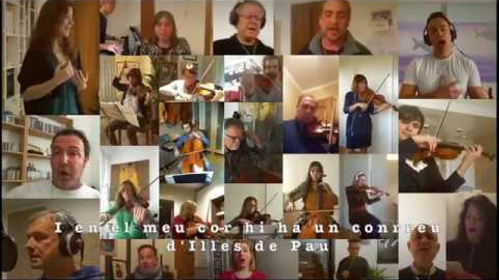 'Quatre Illes', una cançó per donar força a la gent balear durant el confinament