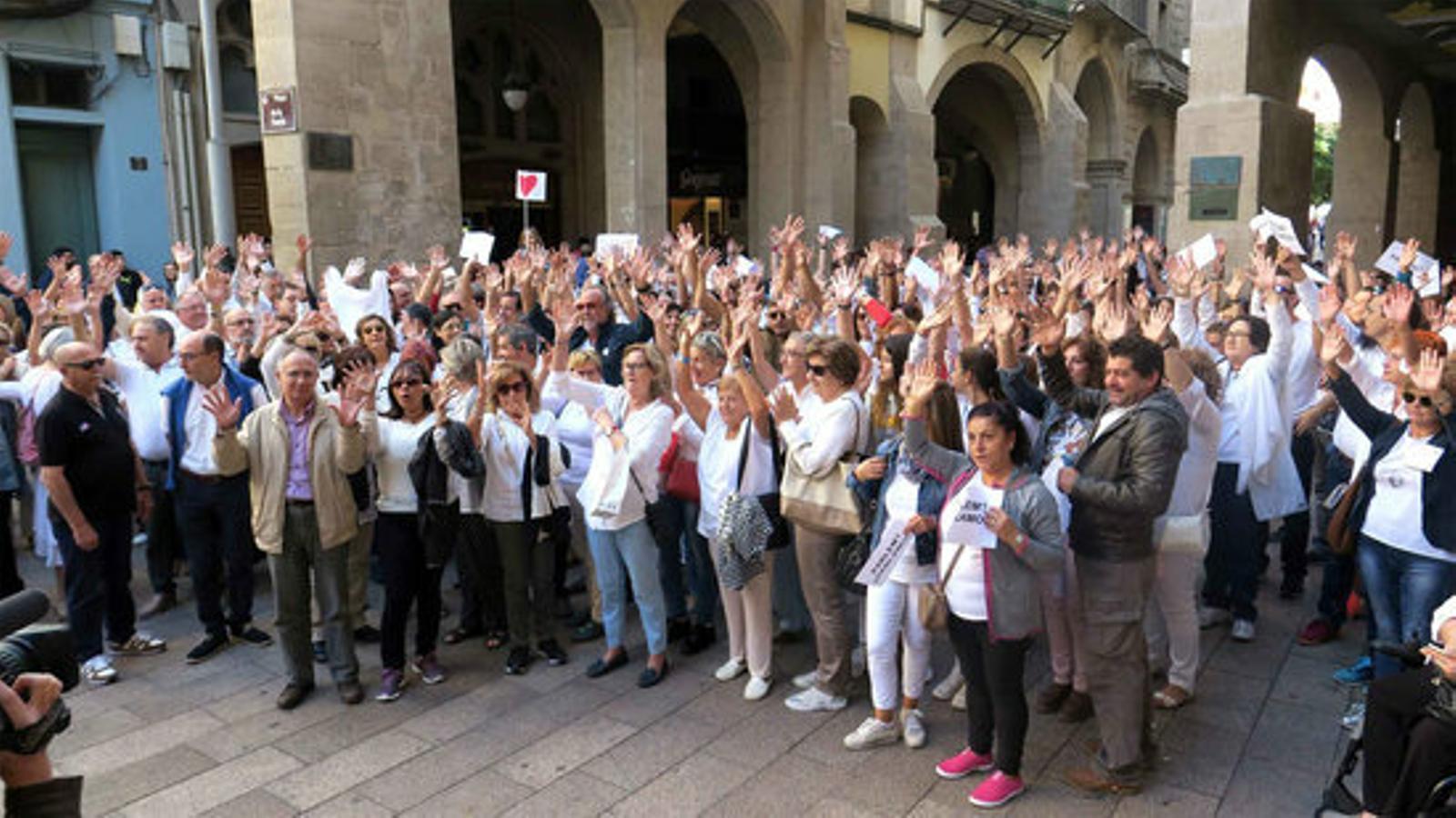 El moviment Parlem convoca una concentració per a dissabte al matí a Barcelona