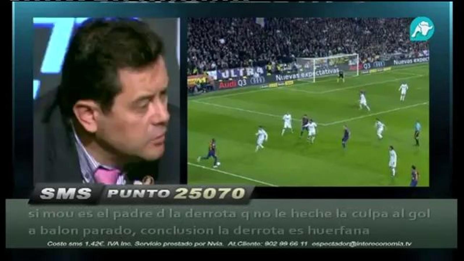 Roncero diu de Mourinho que potser és The Special One a tot arreu, però a Madrid és The Special Two