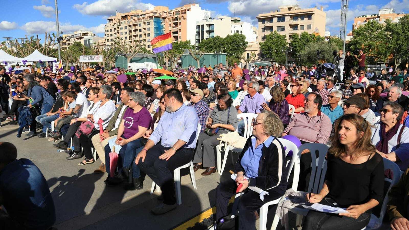 800 persones han assistit a l'acte central de Podem