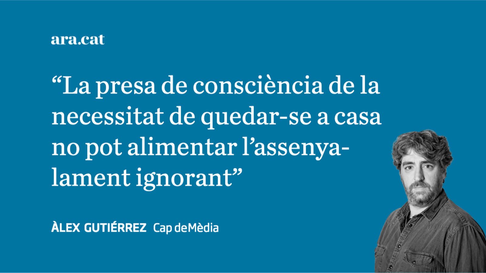 El retorn de la doctrina Aznar versus l'escarni ignorant