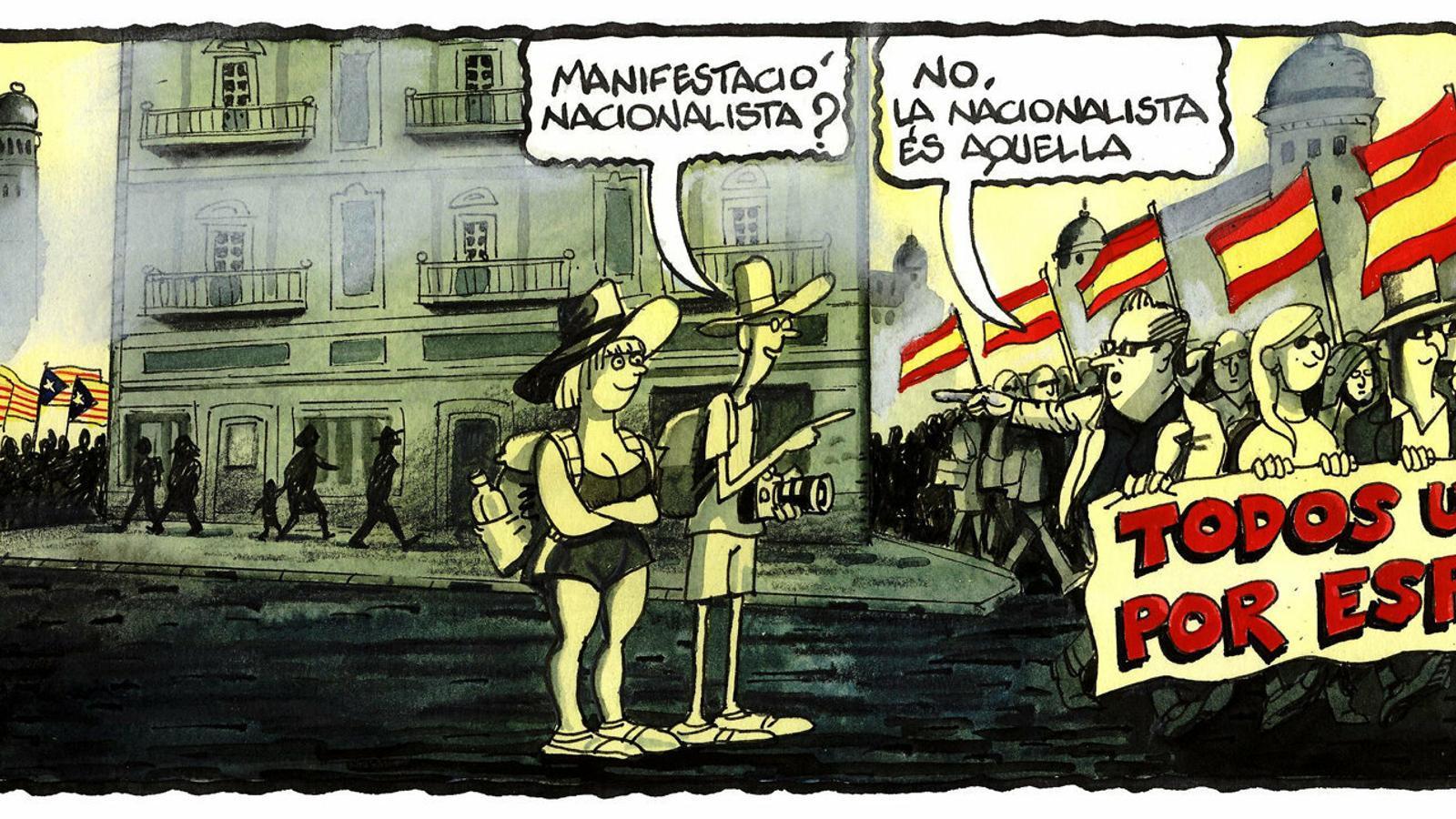 'A la contra', per Ferreres 30/10/2019