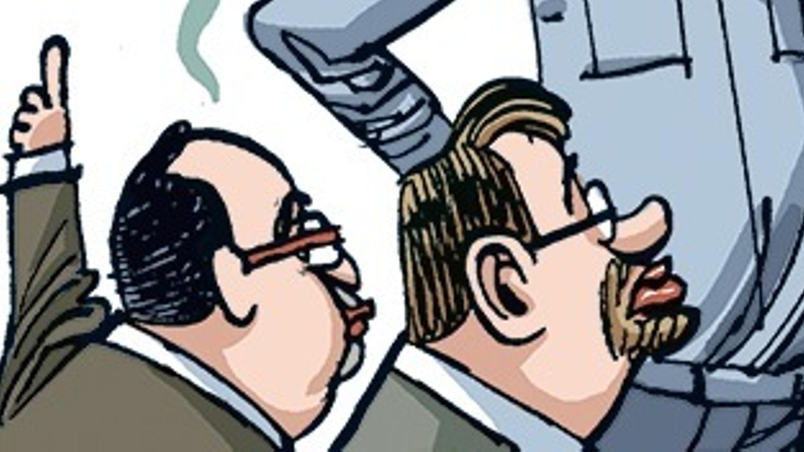 Diari d'una campanya no normal (11): la tira de Manel Fontdevila