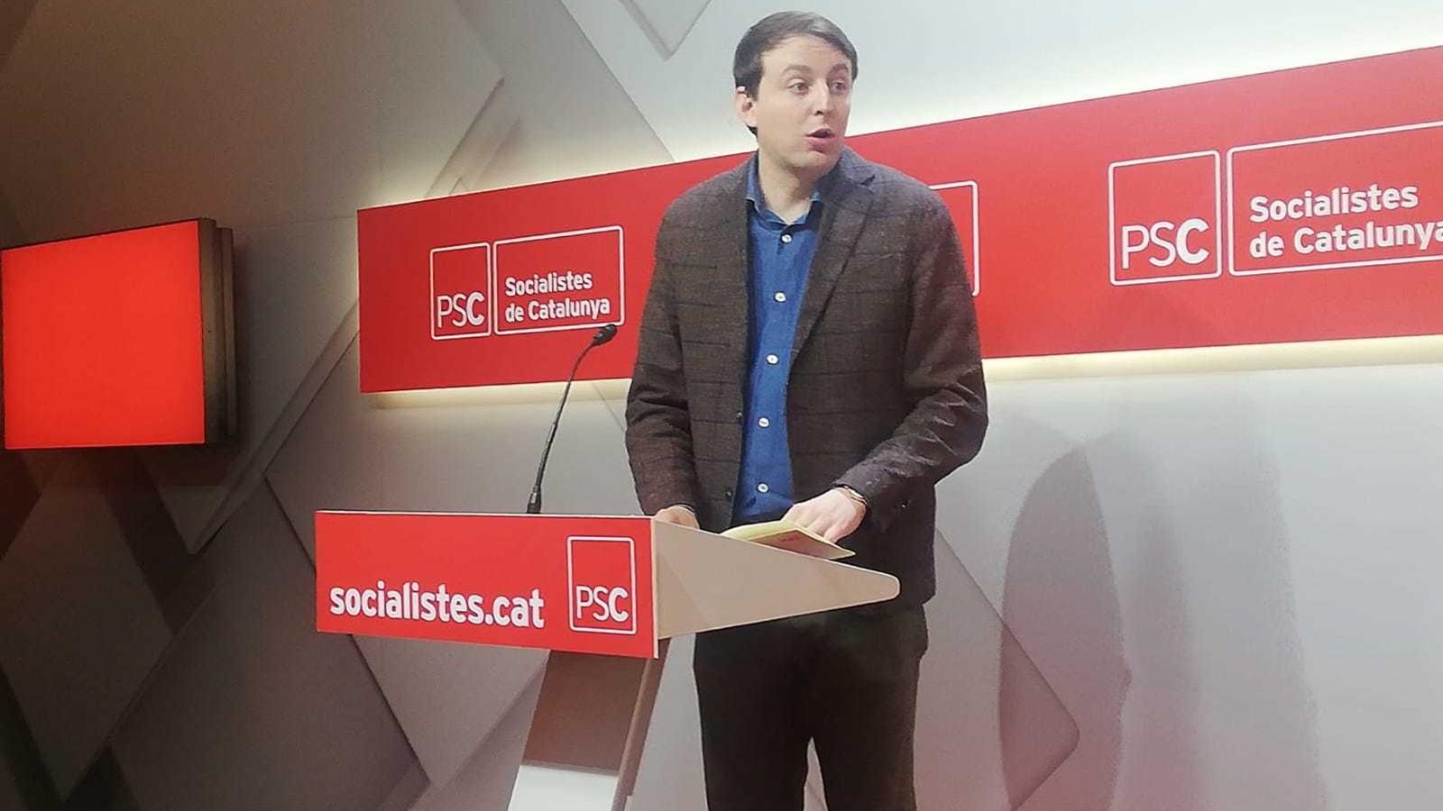 El PSC reclama a Valls que prescindeixi del suport de Cs després del pacte amb Vox