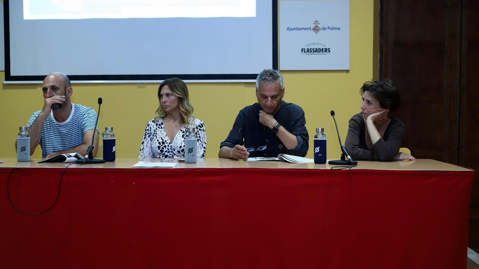 Toni Gomila, Victoria Maldí, Antoni Aguiló i Margalida Rmis