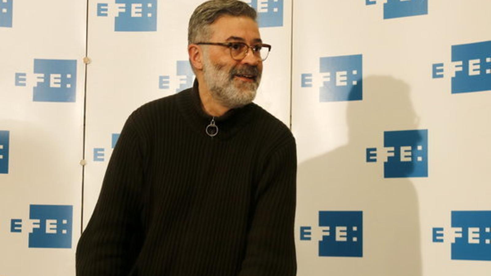 El candidat de la CUP, Carles Riera
