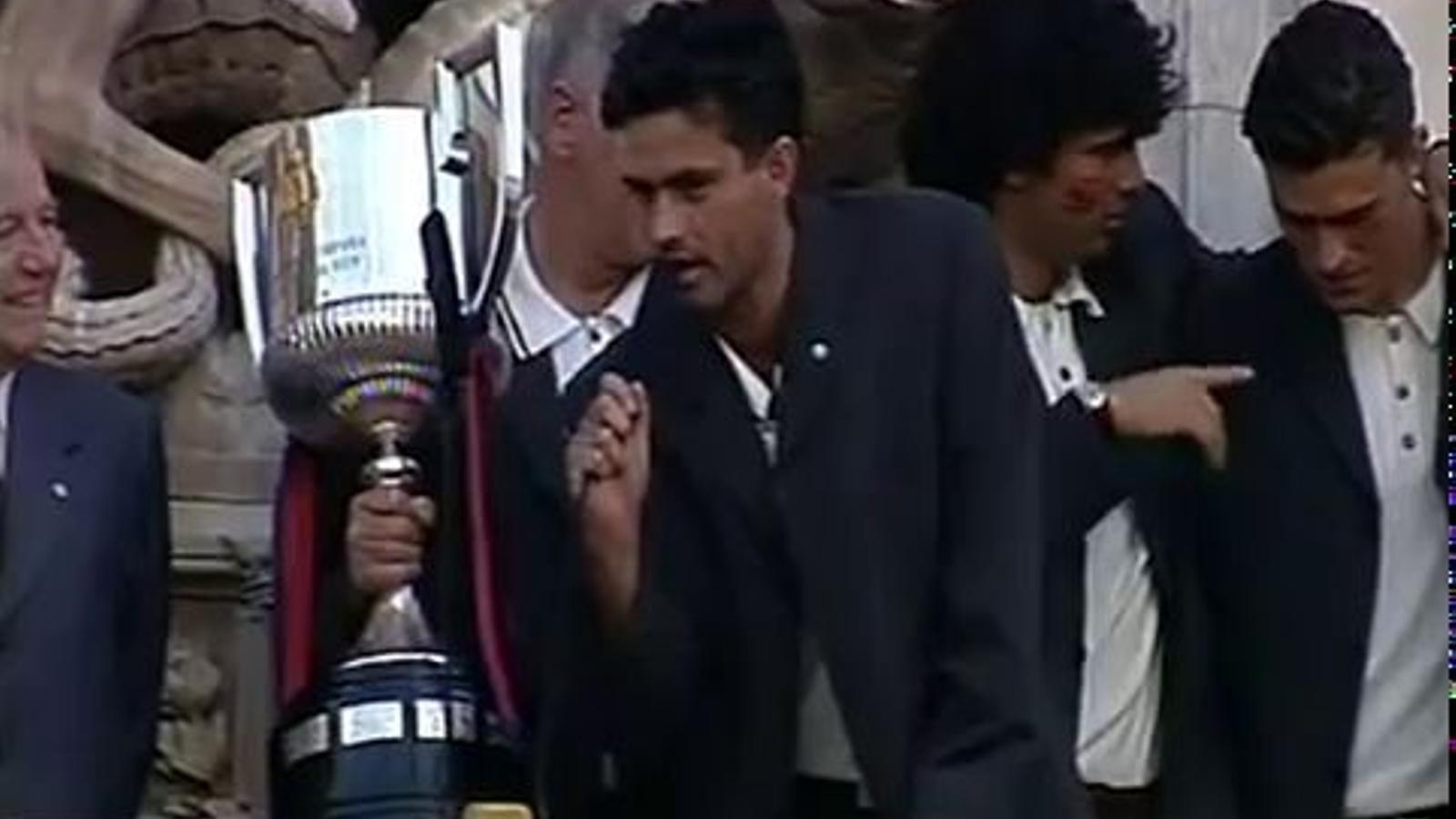 Mourinho: Hoy, mañana y siempre con el Barça en el corazón