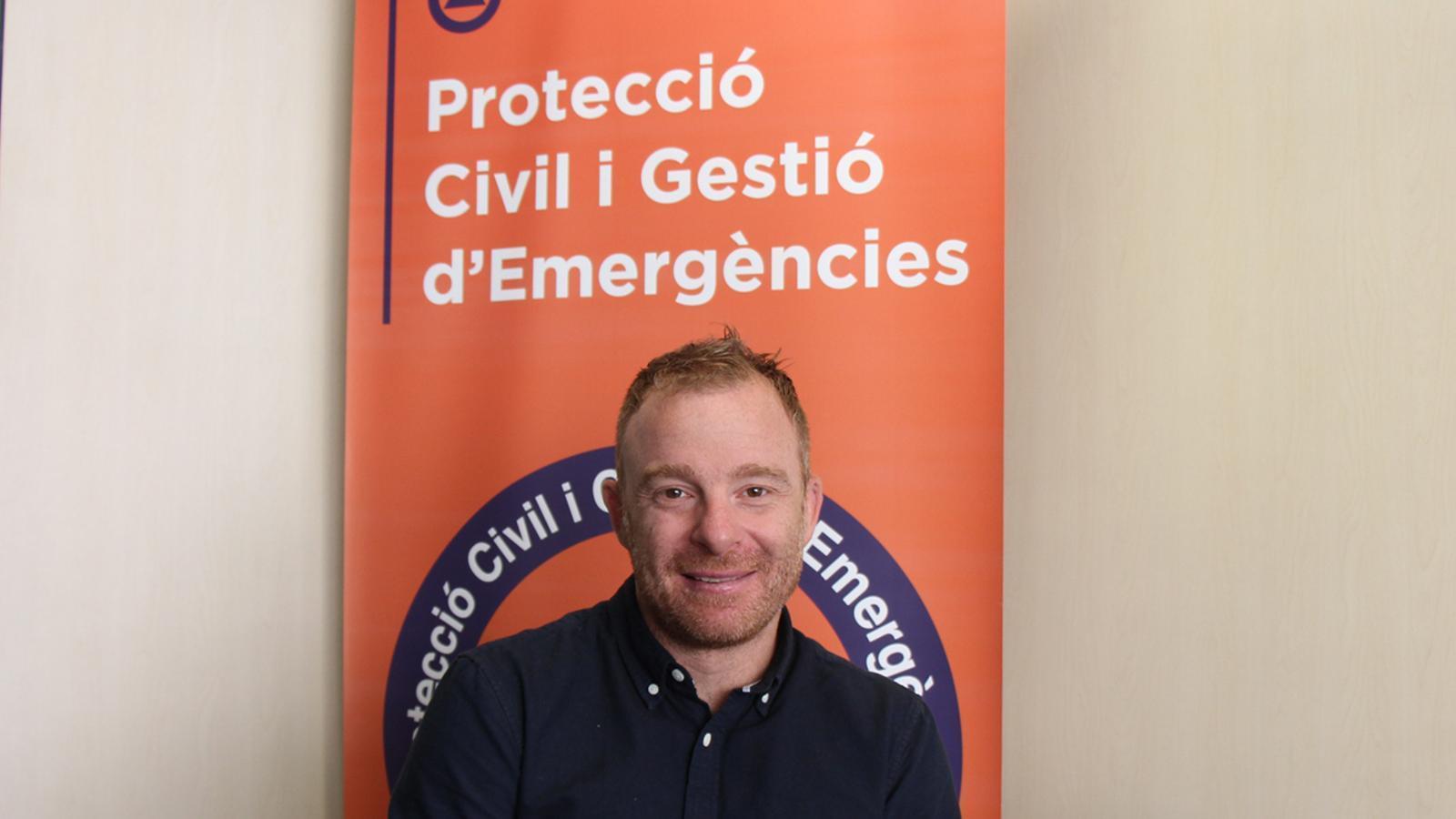 El director del departament de Protecció Civil i Gestió d'Emergències, Cristian Pons. / M. F. (ANA)