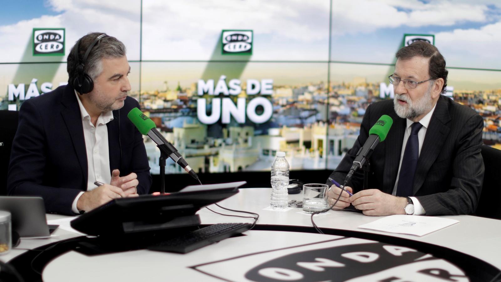 """Rajoy: """"Faré tot el possible perquè Puigdemont no sigui investit"""""""