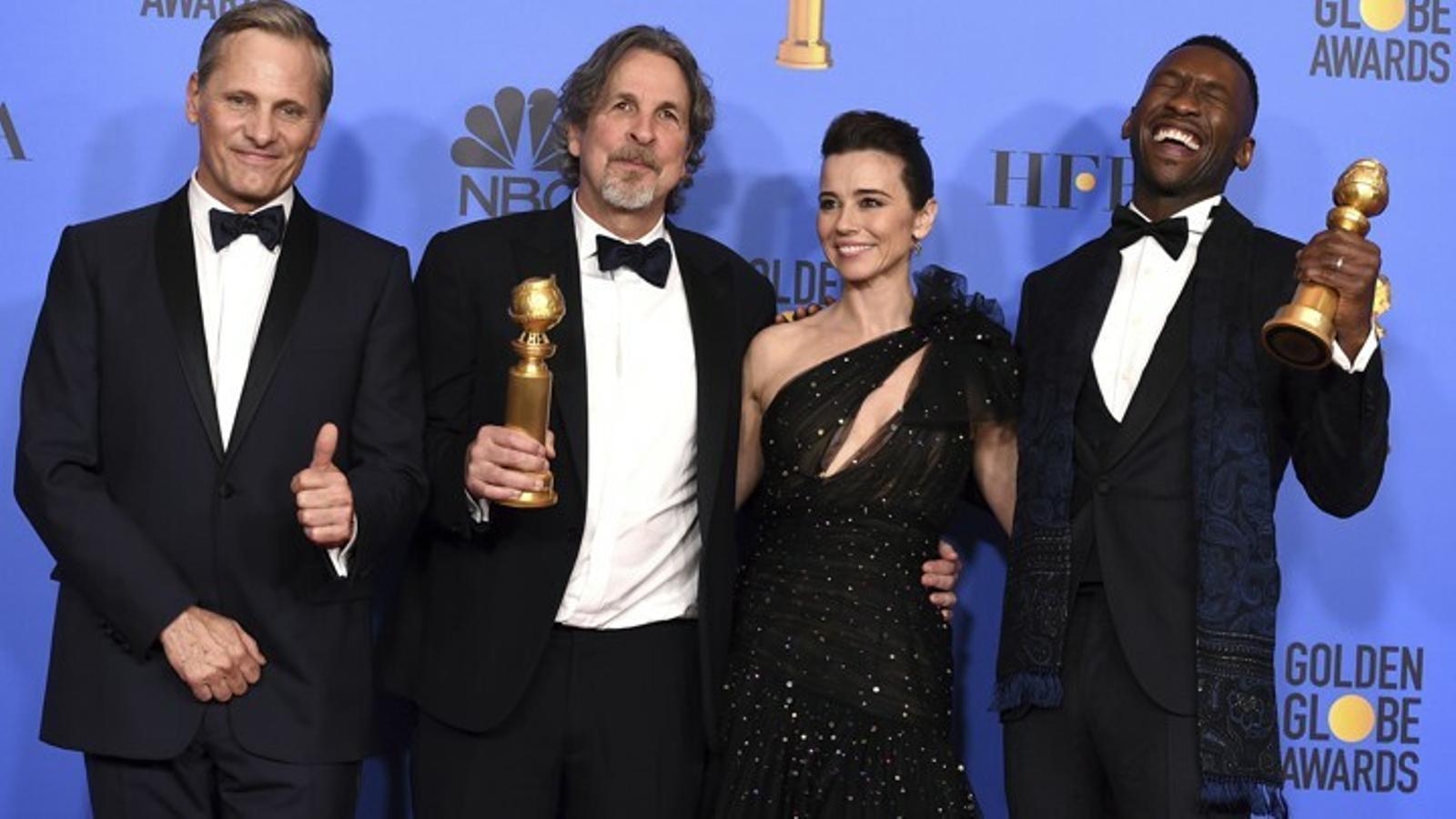 'Green book' triomfa en els Oscars més repartits
