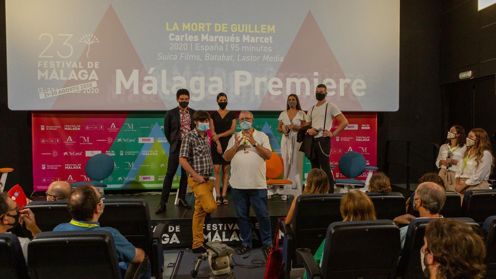 Diàleg amb l'equip de 'La mort de Guillem', Carlos Marques-Marcet al Festival de Màlaga