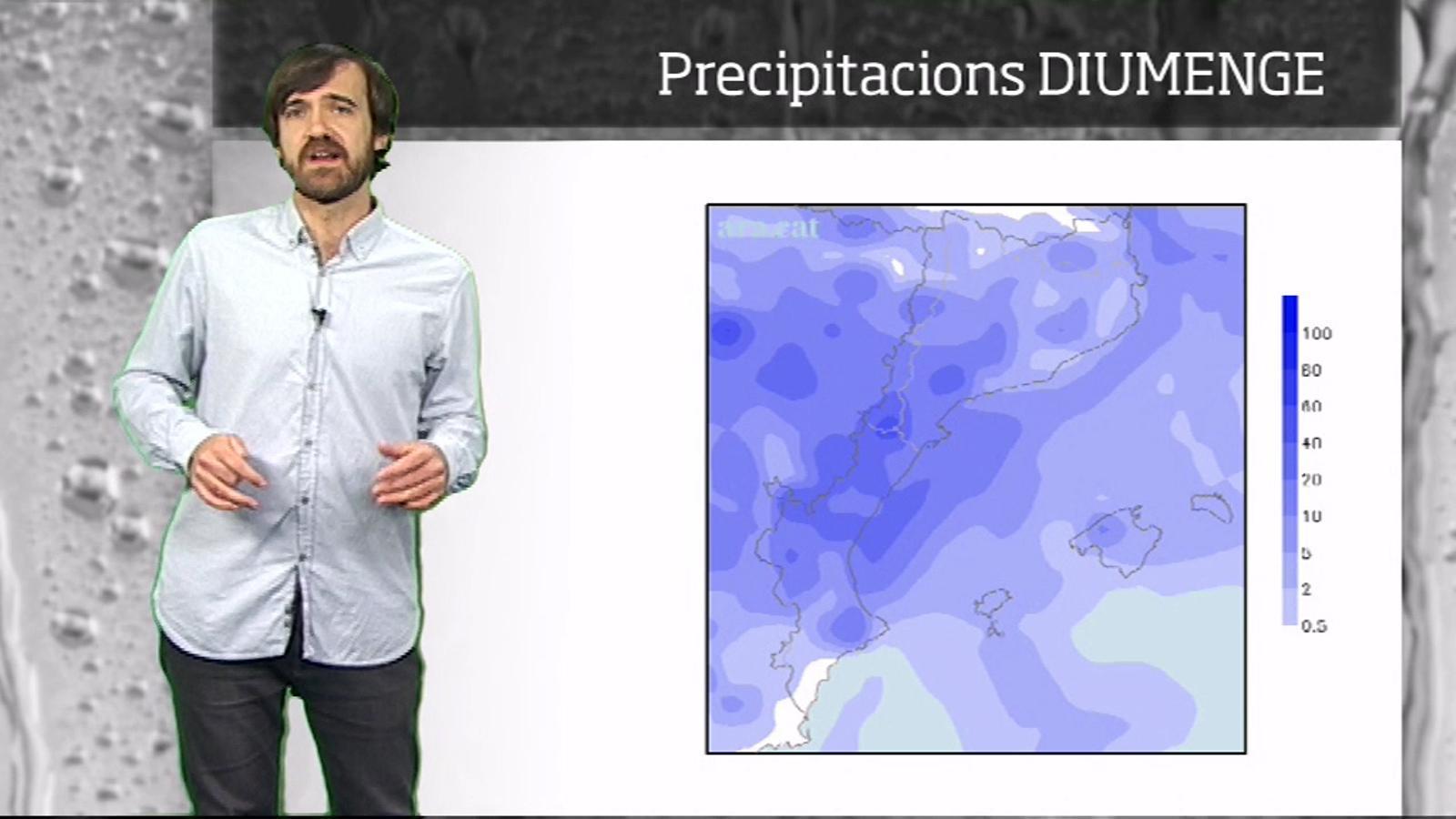 Méteo especial: pluges i canvi de temps al final del cap de setmana