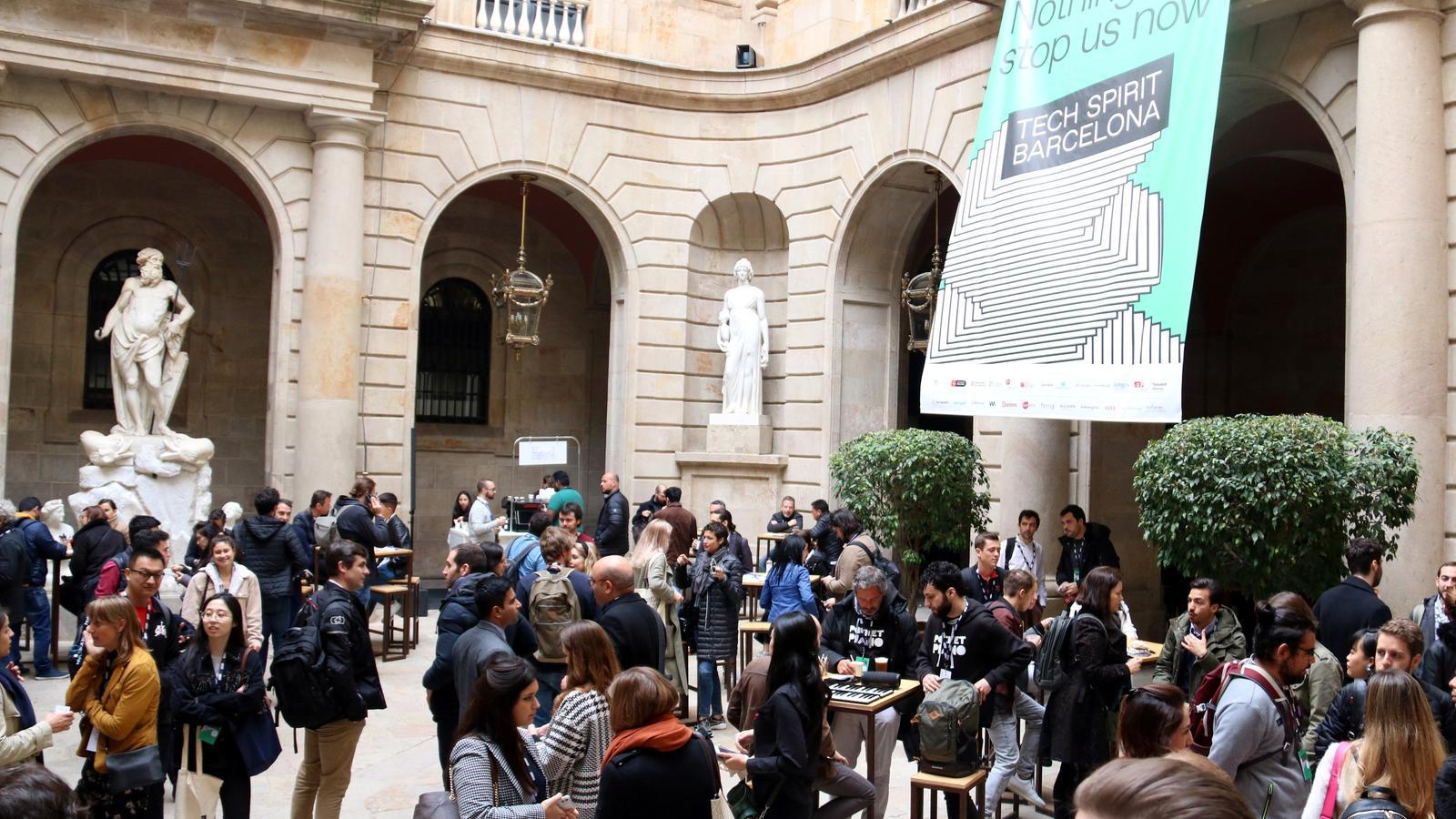 Imatge d'ambient el primer dia del Tech Spirit Barcelona